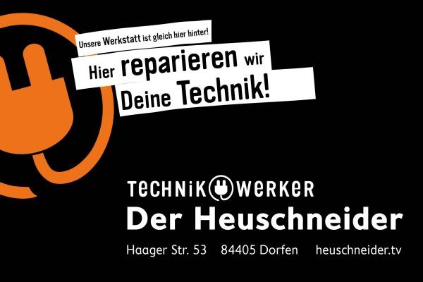 Technikwerker repariert Deine Technik