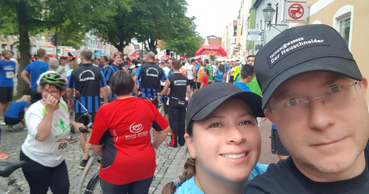 Technikwerker at the City Run in Dorfen 2018 • Technikwerker