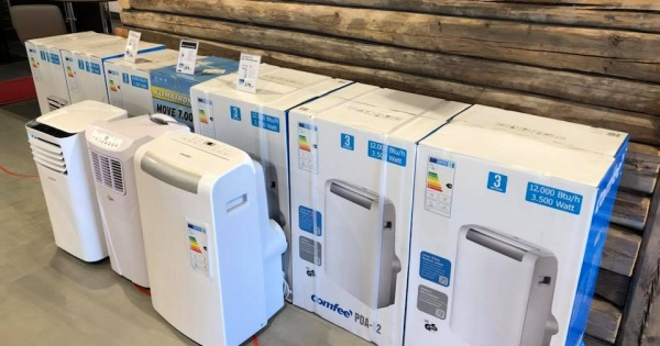 Auswahl an mobilen Klimaanlagen