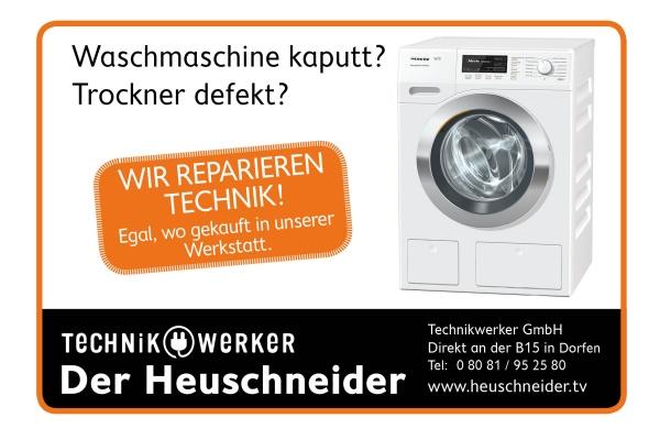 Slogan Waschmaschine kaputt Trockner defekt