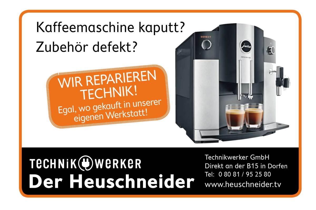 Technikwerker Kaffeemaschinen