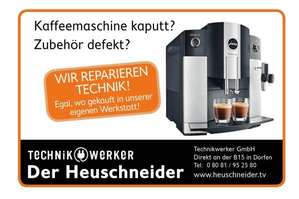 Slogan Kaffeemaschine kaputt Zubehör defekt