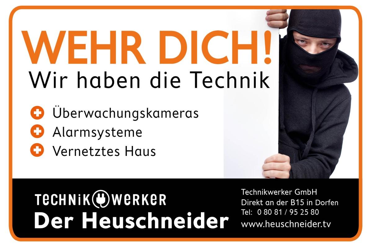 Technikwerker Sicherheitstechnik