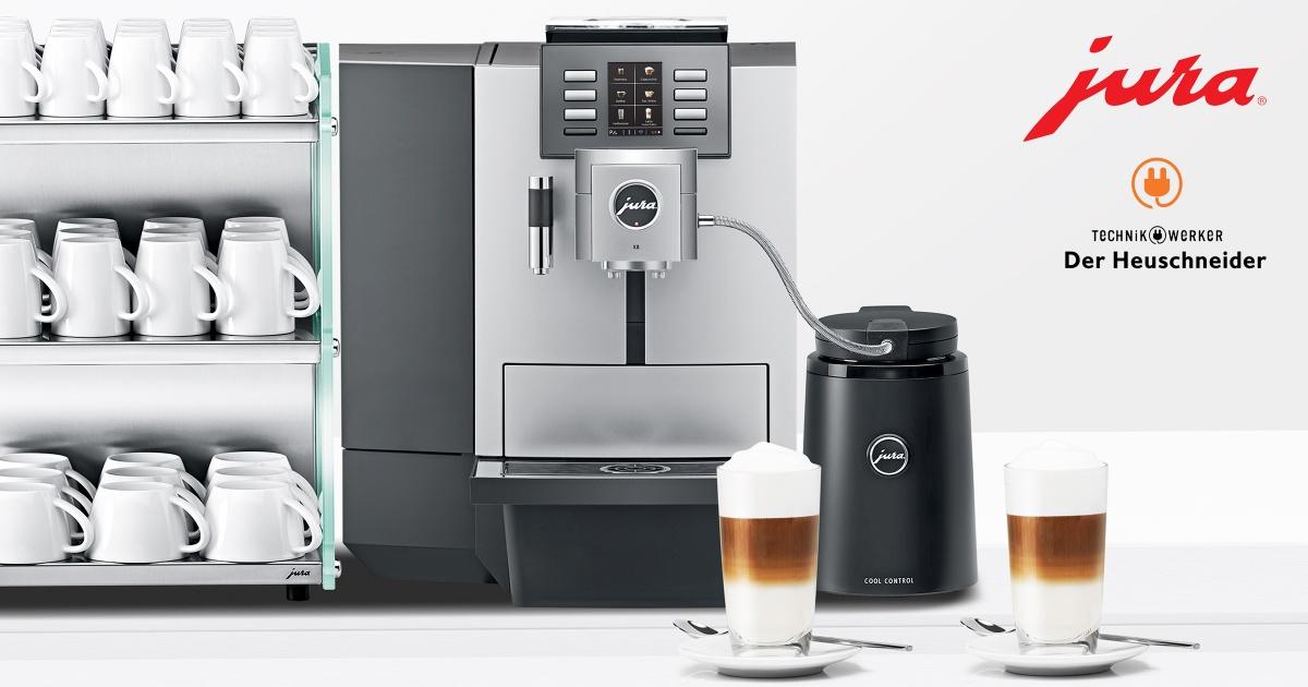 Kaffeevollautomat in der Firma  • Technikwerker