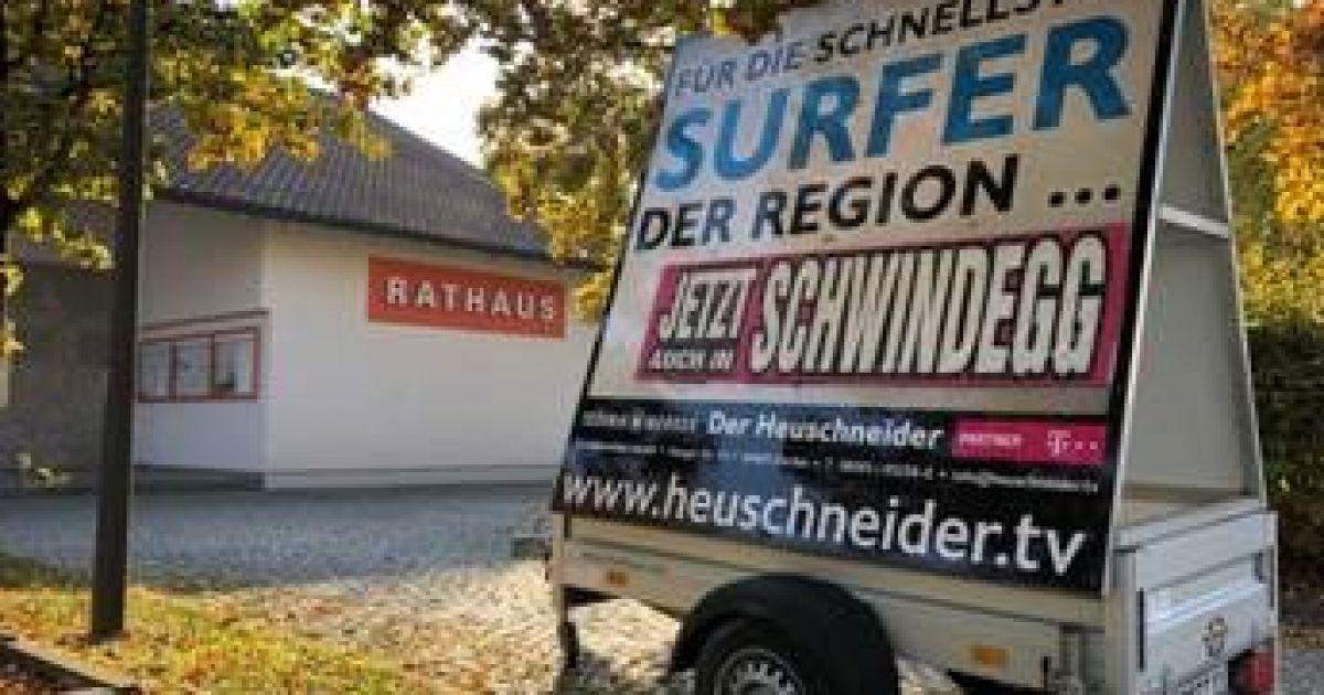 "Technikwerker ""Der Heuschneider"" – Größter Telekom-Partner im Landkreis Erding • Technikwerker"