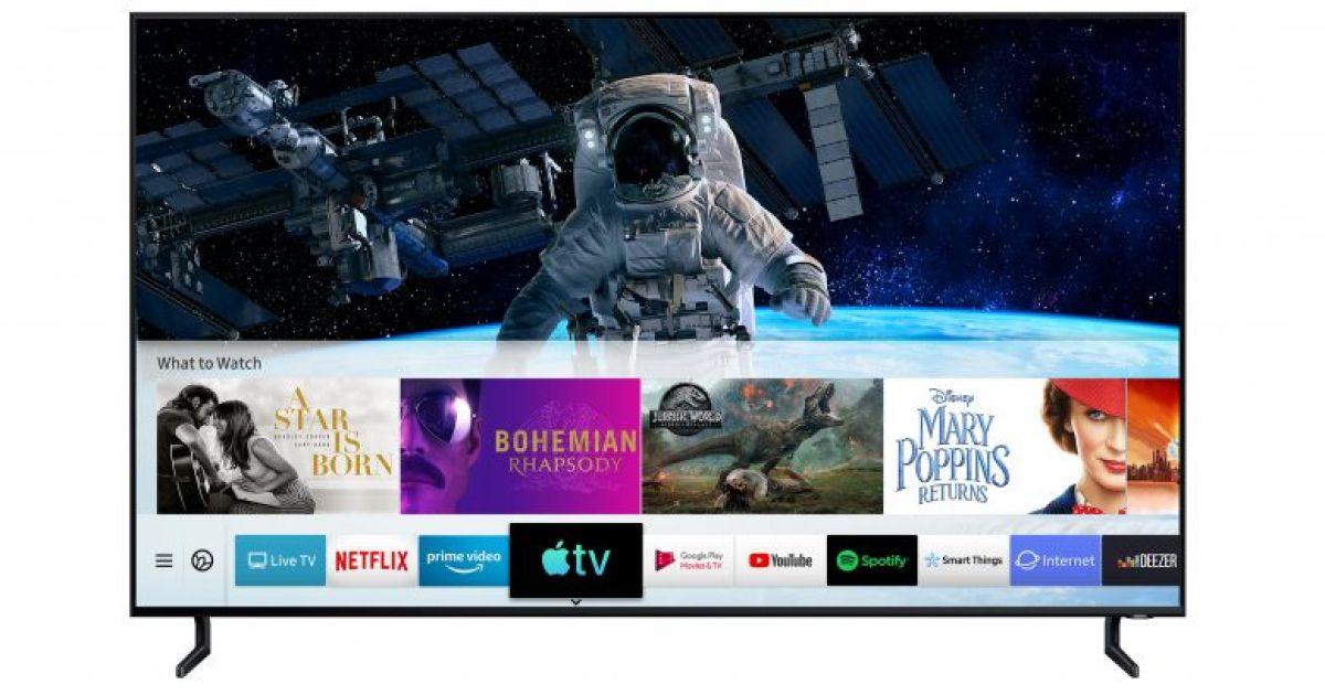 Samsung integriert als erster TV-Hersteller die Apple TV App und AirPlay 2 • Technikwerker