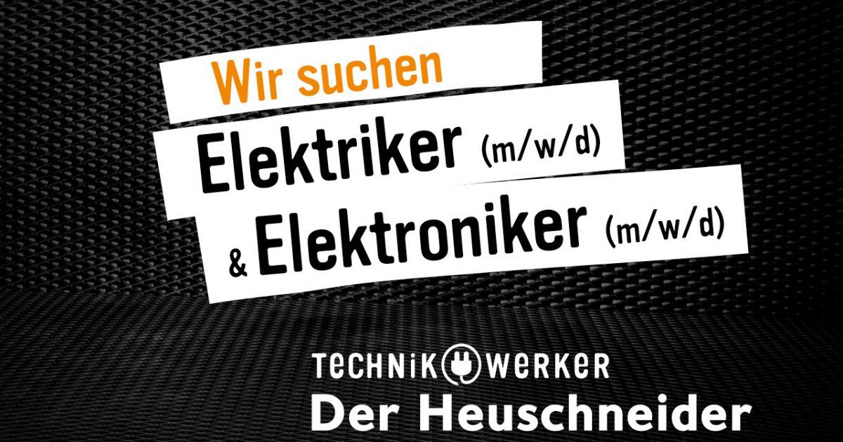 Wir suchen Techniker/innen und Verkäufer/innen